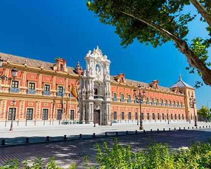 San Telmo Palace: a Sevillian Baroque gem