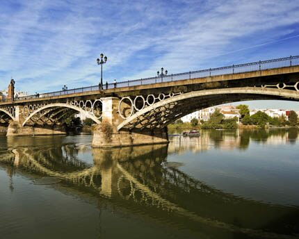 Triana bridge: Seville's most popular bridge