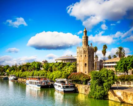 The Tower of Gold, the inspiration behind myriad Seville stories