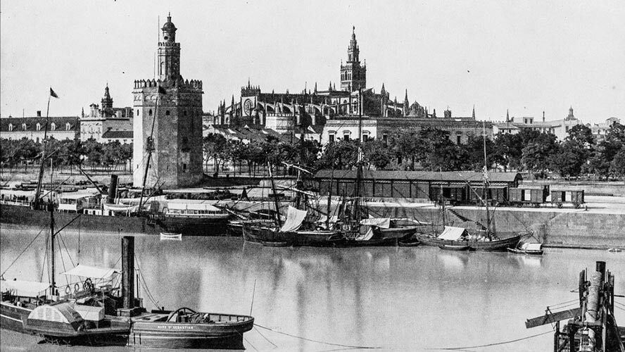 La Torre del Oro en el Siglo XIX