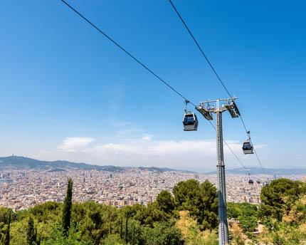 Funicular de Montjuïc, el acceso más rápido a la zona olímpica y el castillo