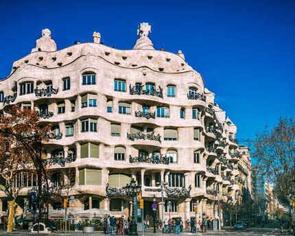Casa Milà, a fantasy in stone and wrought iron