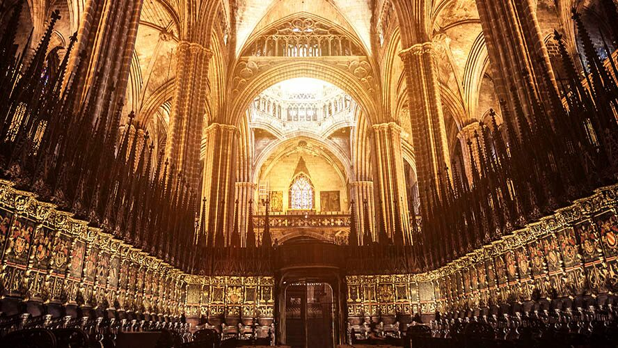 Barcelona Cathedral A Neo Gothic Church Steeped In Legend