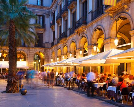 Eating in Barcelona will activate all five of your senses