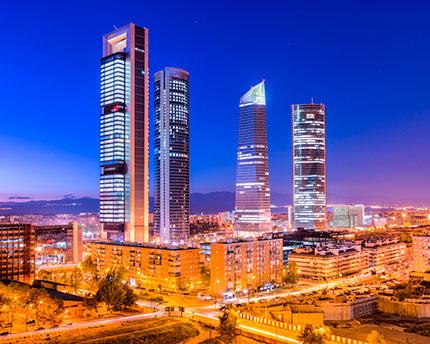 The Cuatro Torres de Madrid: the city's new icon