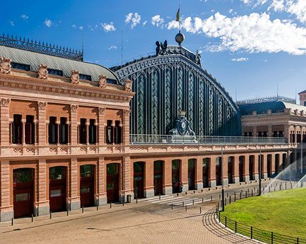 Atocha station: the iron heart of Madrid