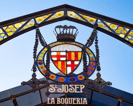 La Boqueria Market. A temple of flavour