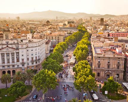 La Rambla, Barcelona's most emblematic boulevard