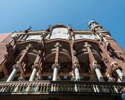 El Palau de la Música, una oda al modernismo catalán