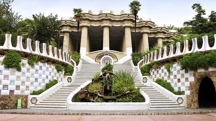 Entrada Monumental Park Güell