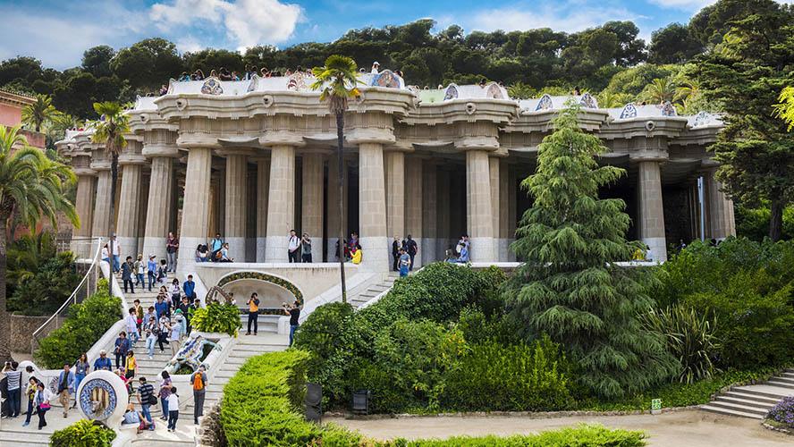 Plaza de la Naturaleza Park Güell