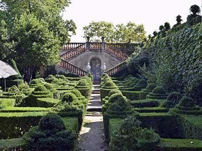 Escalinata en el Parque de Horta