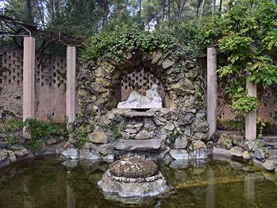 Fuente en el Parque de Horta