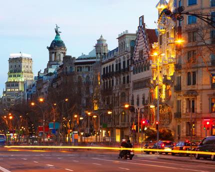 Passeig de Gràcia, el bulevar más elegante de Barcelona