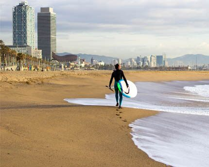 Barcelona's beaches, a waterfront redevelopment miracle