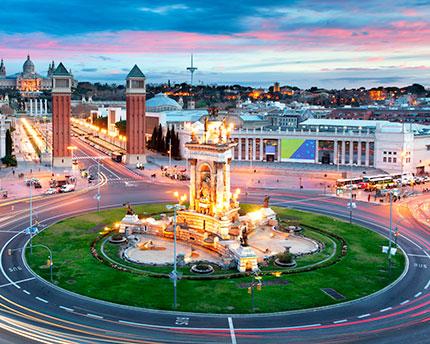Plaza de España de Barcelona, el espíritu de la Exposición Universal de 1929