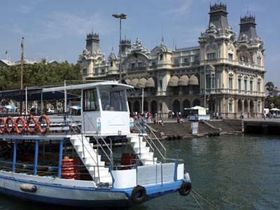 Golondrinas, barco tradicional de Barcelona
