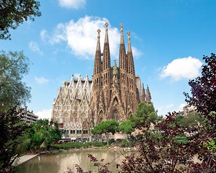 The Sagrada Familia, an architectural and spiritual tour de force