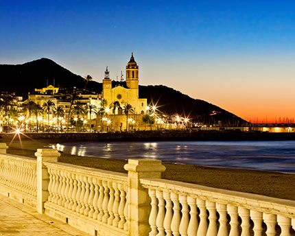 Sitges, where tranquillity meets euphoria