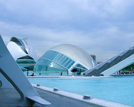 Ciutat de les Arts i les Ciències, a fascinating educational complex