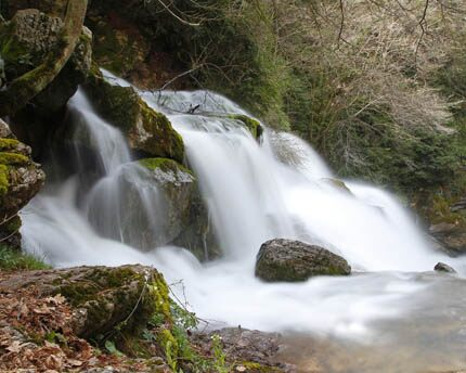 Les Fonts del Llobregat, waterfalls and unspoilt nature