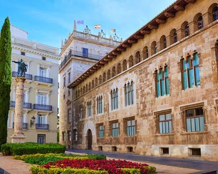 Corts Valencianes, home of Valencia's politics