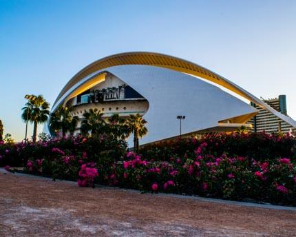 La gran Ópera de Valencia. El Palau de les Arts Reina Sofía
