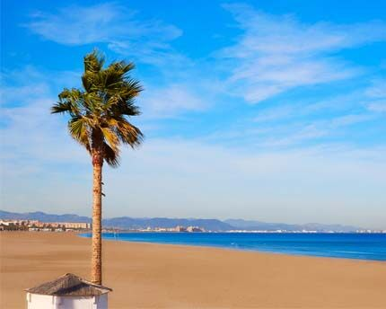 Platja de la Malva-rosa, Valencia's golden star