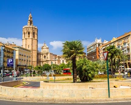 Plaça de la Reina, Valencia's Kilometre Zero