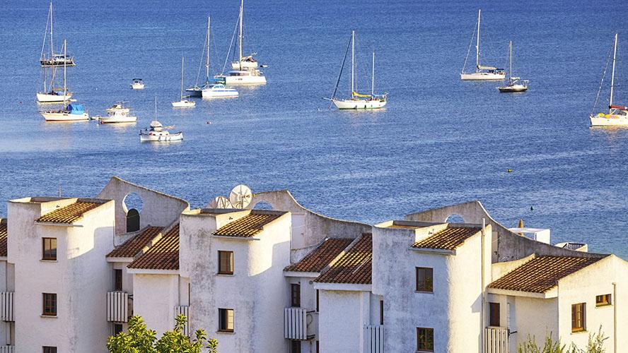 Vistas del Puerto de Alcudia