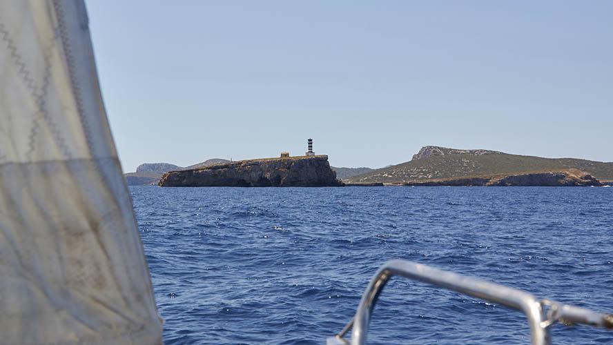Cabrera desde el mar