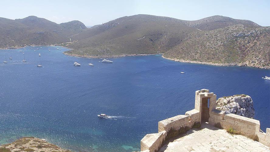 Vistas desde el Castillo de Cabrera