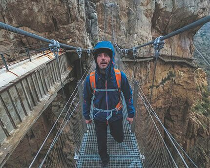 "Caminito del Rey, the renovated ""most dangerous path in the world"""