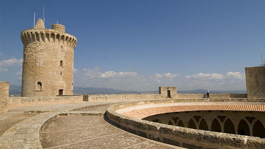 Planta circular del Castell de Bellver