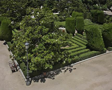Jardines de Sabatini, el retoño más joven del Palacio Real de Madrid