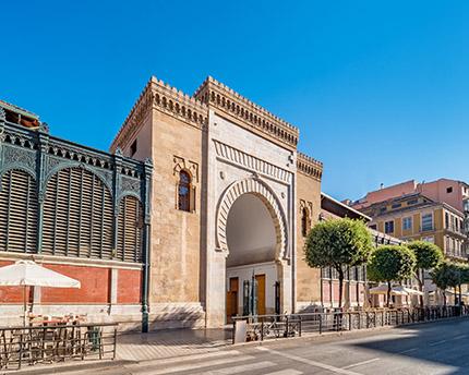 Mercado de Atarazanas, arquitectura y delicias para el paladar