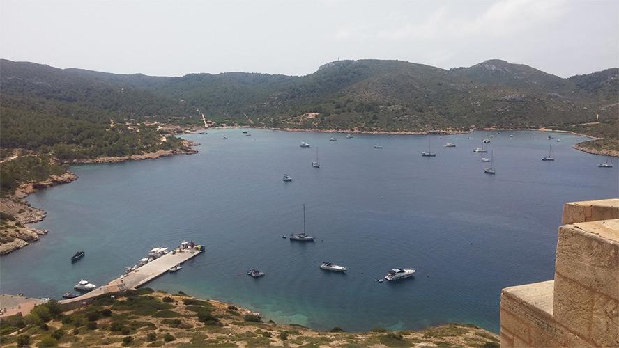 parque nacional Isla de cabrera_mallorca