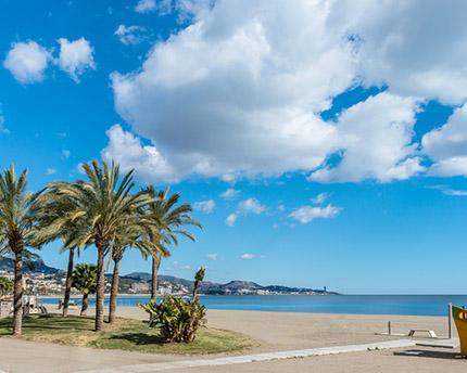 El Paseo Marítimo de Málaga, un bello recorrido salpicado de brisa marina
