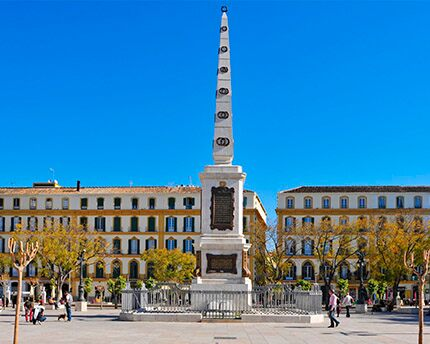 Plaza de la Merced: the historic setting of libertarian Málaga