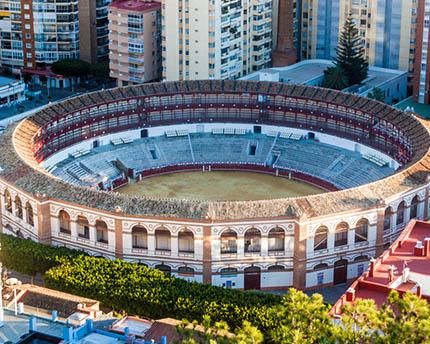 La Plaza de Toros de Málaga, todo un símbolo arquitectónico