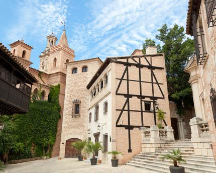 Pueblo Español de Mallorca, un museo de la arquitectura española