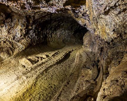 Cueva del Viento, un túnel volcánico laberíntico en Tenerife
