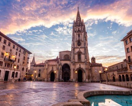 Oviedo Cathedral: historic and majestic