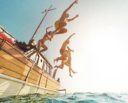 excursiones en barco menorca