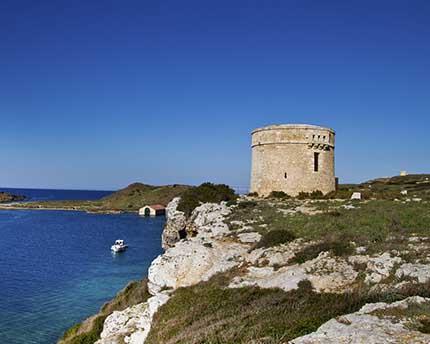 La Mola, a magnificent fortress next to the port of Mahón