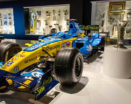 The Fernando Alonso Museum: An ode to motor racing