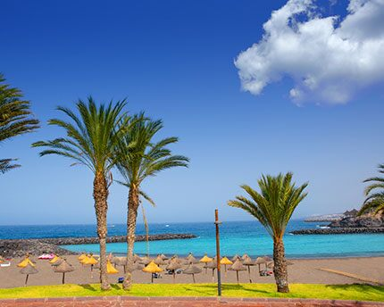 Playa de las Américas, the liveliest beach in Tenerife