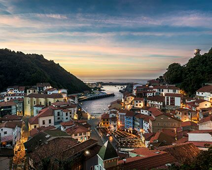 Cudillero, an idyllic seaside fishing village with magnificent views