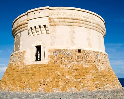 The Torre de Fornells, northern Minorca's mighty defensive bastion