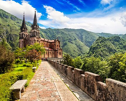 Covadonga basilica and sanctuary, the spiritual heart of Asturias
